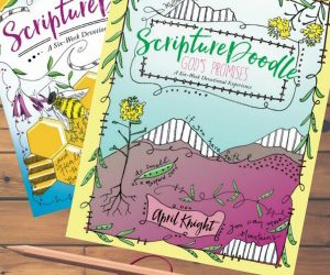 Book Review (double feature): ScriptureDoodle & ScriptureDoodle God's Promises by April Knight
