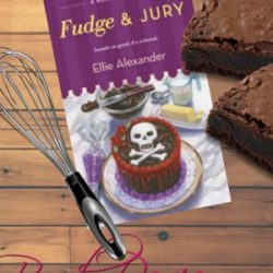 Book Review (and a Giveaway!): Fudge and Jury by Ellie Alexander