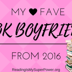 Top Ten Tuesday: My Favorite Book Boyfriends of 2016