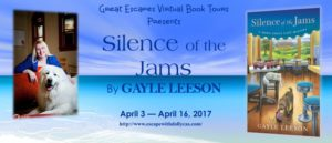 Book Review (and a Giveaway!): Silence of the Jams by Gayle Leeson