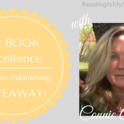 Excellence in Indie Publishing GIVEAWAY Guest Post: Connie Almony