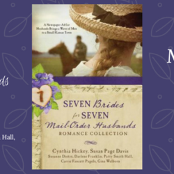 Blog Hop (and a Giveaway!): Seven Brides for Seven Mail Order Husbands (featuring Carrie Fancett Pagels)