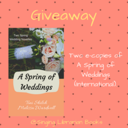 Book Excerpt (and a Giveaway!): A Spring of Weddings by Toni Shiloh & Melissa Wardwell