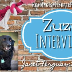 Zuzu Interviews: Janet W. Ferguson's dog Remi (plus a Giveaway!)