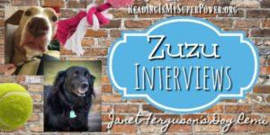 Zuzu Interviews: Janet W. Ferguson's dog Remi (plus a Giveaway!)