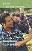 Book Review (and a Giveaway!): Support Your Local Sheriff by Melinda Curtis