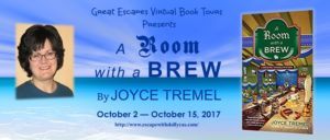 Guest Post (and a Giveaway!): Joyce Tremel & A Room With a Brew