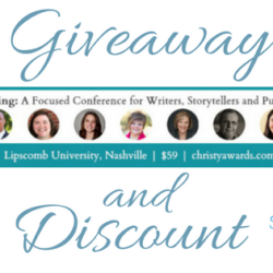 Giveaway (and a Discount!): The Art of Writing Conference & The Christy Awards Gala