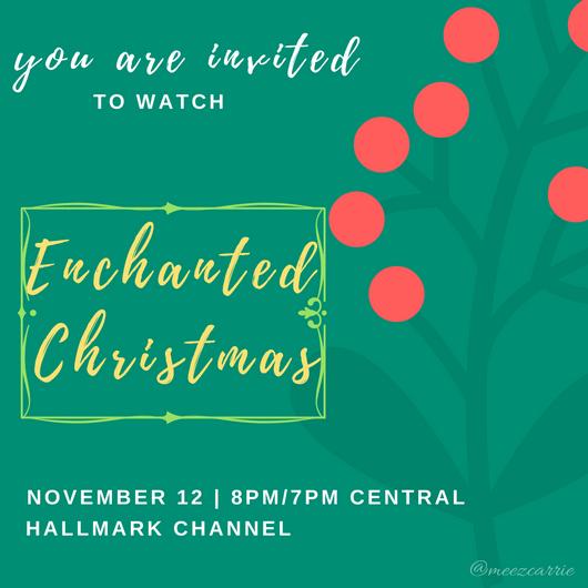 Enchanted Christmas Hallmark.Movie Spotlight Enchanted Christmas Reading Is My Superpower