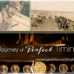 Guest Post (and a Giveaway!): Angie Dicken talks about a journey of perfect timing