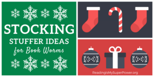 Stocking Stuffer Ideas for Book Worms (with Discounts & a Giveaway!)