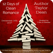 12 Days of Clean Romance (and a Giveaway!): Day 7 – Taylor Dean