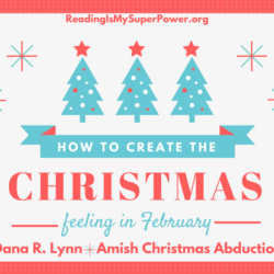 Guest Post (and a Giveaway!): Dana R. Lynn & Amish Christmas Abduction