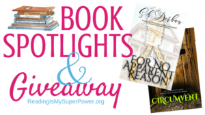 Book Spotlights (and a Giveaway!): For No Apparent Reason & Circumvent by S.K. Derban