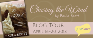 Blog Tour (and a Giveaway!): Paula Scott & Chasing the Wind