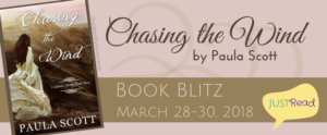 Welcome to the Chasing the Wind (by Paula Scott) Book Blitz & Giveaway!