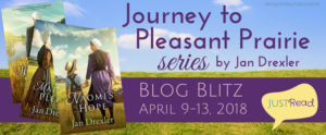 Series Blitz (and a Giveaway!): Journey to Pleasant Prairie by Jan Drexler