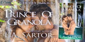 Book Excerpt (and a Giveaway!): Prince of Granola by L.A. Sartor