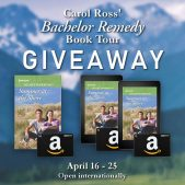 Book Tour Grand Finale (and a Giveaway!): Bachelor Remedy by Carol Ross