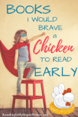 Top Ten Tuesday: Books I Would Brave a Chicken to Read Early