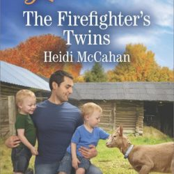 Book Spotlight (and a Giveaway!): The Firefighter's Twins by Heidi McCahan