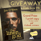 Book Spotlight (and a Giveaway!): The Linen God by Jim O'Shea