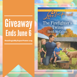 Author Interview (and a Giveaway!): Heidi McCahan & The Firefighter's Twins