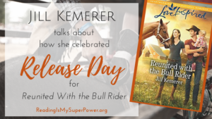 Guest Post (and a Giveaway!): How Jill Kemerer Celebrates Release Days