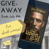 Book Excerpt (and a Giveaway!): The Linen God by Jim O'Shea