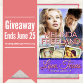 Author Interview (and a Giveaway!): Melinda Freeland & Love, Texas – Population 2