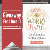 Author Interview (and a Giveaway!): Barb Roose & Winning the Worry Battle