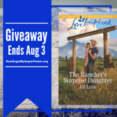 Author Interview (and a Giveaway!): Jill Lynn & The Rancher's Surprise Daughter
