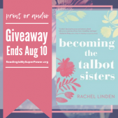 Author Interview (and a Giveaway!): Rachel Linden & Becoming The Talbot Sisters