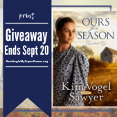 Author Interview (and a Giveaway!): Kim Vogel Sawyer & Ours For A Season
