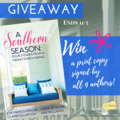 Setting Spotlight (and a Giveaway!): A Southern Season by Everson, Fullerton, Mulligan, and Yezak