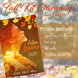 Book Spotlight (and a Giveaway!): Fallen Leaves by Tessa Emily Hall
