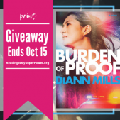 Guest Post (and a Giveaway!): DiAnn Mills & Burden of Proof