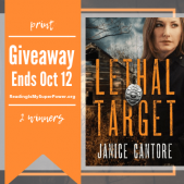 Author Interview (and a Giveaway!): Janice Cantore & Lethal Target