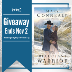 Author Interview (and a Giveaway!): Mary Connealy & The Reluctant Warrior
