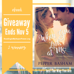 Author Interview (and a Giveaway!): Pepper Basham & When You Look at Me
