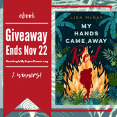 Author Interview (and a Giveaway!): Lisa McKay & My Hands Came Away Red