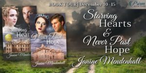 Book Spotlight (and a Giveaway!): Starving Hearts & Never Past Hope by Janine Mendenhall