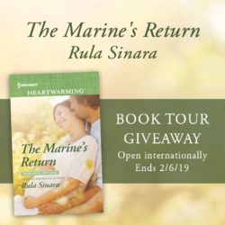 Book Review (and a Giveaway!): The Marine's Return by Rula Sinara