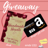 Book Excerpt (and a Giveaway!): Handmade Hearts by June McCrary Jacobs