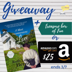 Book Excerpt (and a Giveaway!): A Most Inconvenient Love by Ruth Logan Herne