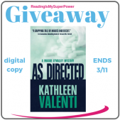 Book Review (and a Giveaway!): As Directed by Kathleen Valenti