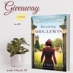 Book Spotlight (and a Giveaway!): Becoming Mrs. Lewis by Patti Callahan