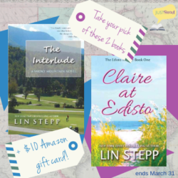 Guest Post (and a Giveaway!): Lin Stepp, The Interlude, and Claire at Edisto