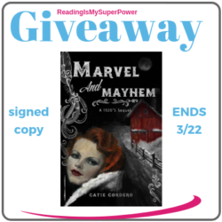 Author Interview (and a Giveaway!): Catie Cordero & Marvel and Mayhem