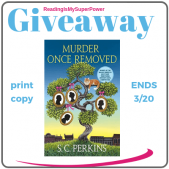 Book Review (and a Giveaway!): Murder Once Removed by S.C. Perkins